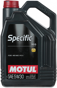 Motul Specific 913 D Ford 5W30 5л