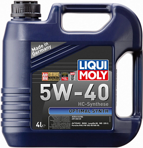 LIQUI MOLY Optimal Synth 5W-40 4л